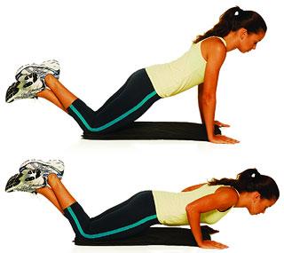 Exercícios para os braços gordos FLEXÃO DE BRAÇOS - Exercicios para o peito