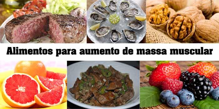 alimentos para ganhar massa muscular 1 - Alimentos para ganhar massa muscular