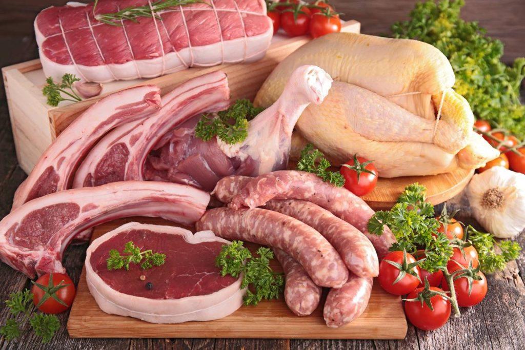 carnes2 1024x683 - Alimentos com mais proteínas