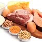 proteínas 164x164 - Exercicios para perder a barriga em uma semana