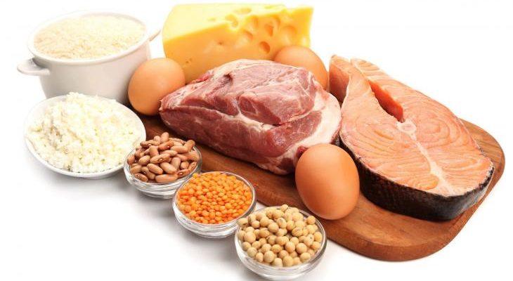 proteínas 730x400 - Alimentos com mais proteínas