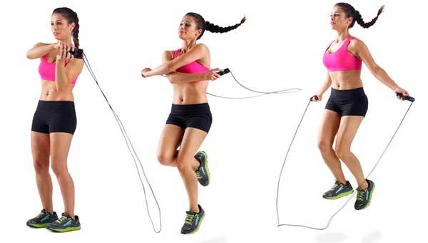 pulando corda - Exercicios para perder a barriga em uma semana