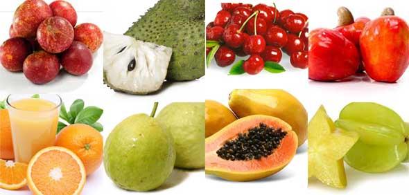 alimentos com mais vitaminas - Alimentos com mais vitaminas